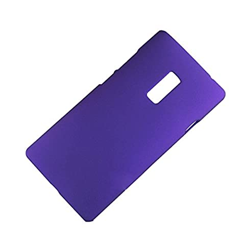 SODIAL(R) Hard Rigid Plastic Protective Back SHELL SKIN Case Cover Skin For Oneplus 2 Purple