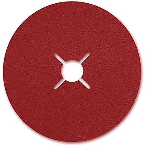 VSM 0007682040120 - Disco abrasivo, (fibra cerámica K 120, 125 mm)