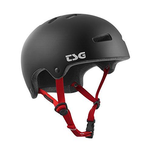 TSG Erwachsene Superlight Solid Color Helm, Satin Black, XXL