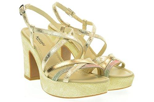 NERO GIARDINI donna sandali con tacco P615631D/415 37 Platino