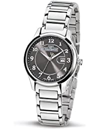 Philip Ladies Liberty Analogue Watch R8253100525 with Quartz Movement, Grey Dial and Stainless Steel Case