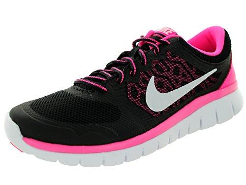 Nike Laufschuhe Flex 2015 Run (GS) Damen Black/White/Pink Pow