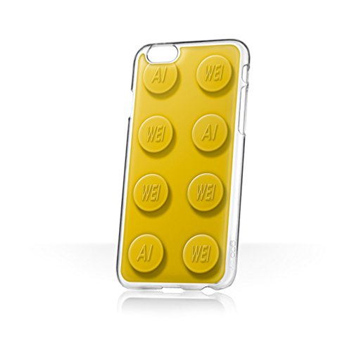 Iphone 3g Hard Snap (Ai Weiwei ai-Bricks X goo. EY-Hände frei Handytasche/Schutzhülle/Etui für Apple iPhone 6/6S-(Große, Gelbe))