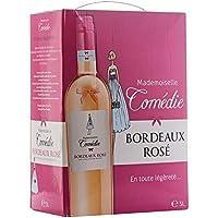 Mademoiselle COMEDIE - Bordeaux rosé - BAG IN BOX 3 litres