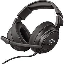 Trust Cascos Gaming GXT 433 Pylo Auriculares Gamer con Micrófono Plegable, Unidades de Altavoces Activos de 50 mm, Cable Trenzado, para PS4, PS5, PC, Nintendo Switch, Xbox One, Xbox Series X - Negro