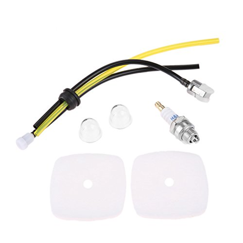 Hicello Filtro Aria Candela Kit per Motozappa Mantis Echo 72227225C1u-k82zama C1UK54A