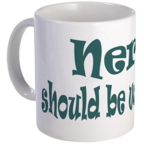 Kaffeetasse aus Keramik, Motiv Nerds Should Be Worshipped