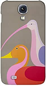 Timpax Protective Hard Back Case Cover With access to all controls and ports Printed Design : Lets fish.100% Compatible withSamsung I9500 Galaxy S4