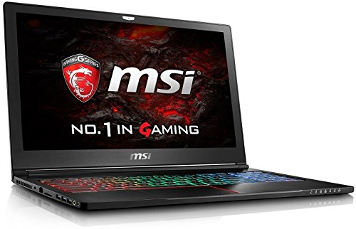 MSI GS63 7RD(Stealth)-091UK (15.6 inch) Gaming Notebook PC Core i7 (7700HQ) 2.8GHz 8GB 1TB 128GB SSD WLAN BT Webcam Windows 10 Home (GeForce GTX 1050 2GB) Best Price and Cheapest