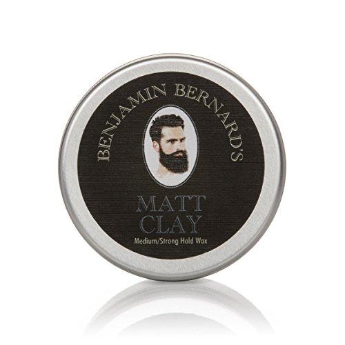 Benjamin Bernard's Hair Clay - Matte Haar-Pomade mit Lehm für Männer - 100 ml