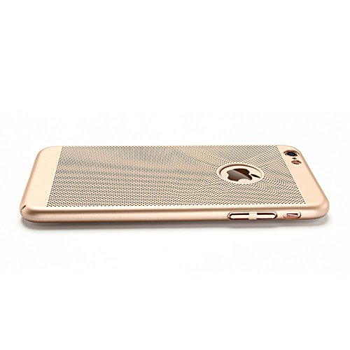 iPhone 6 plus Cover iPhone 6s plus Custodia PC Anfire Ultra Sottile Leggera Hard Case Caso Anti Scratch Rigida Plastica Copertura per Apple iPhone 6 plus / 6s plus (5.5 Pollici) Duro PC Opaco Antiurto Champagne dOro