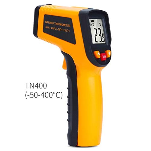 Borbede Infrared Thermometer -50-400/600C Digital Laser Non Contact Temperature gun for Kitchen Food Automotive and Industrial : BD400