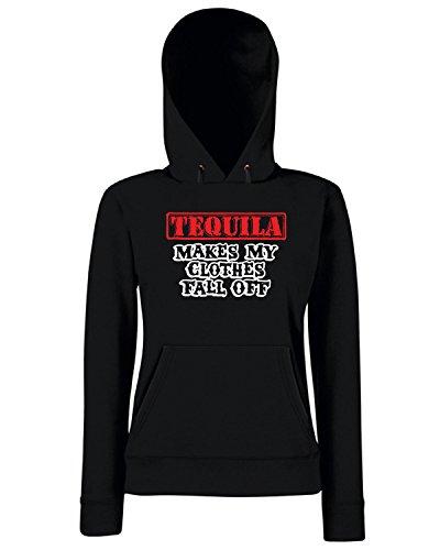 T-Shirtshock - Sweats a capuche Femme BEER0027 Noir