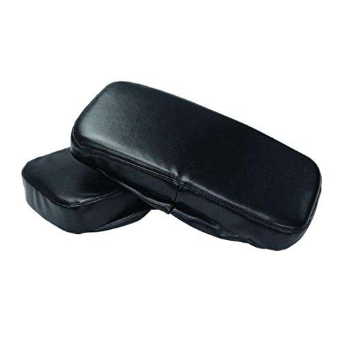 DIAMOEN 2ST Stuhl Armauflagen Foam Elbow Kissen Unterstützung Armlehne Abdeckungen PU-Leder Elbow Relief Stuhlkissen - Deckt Leder Stuhl