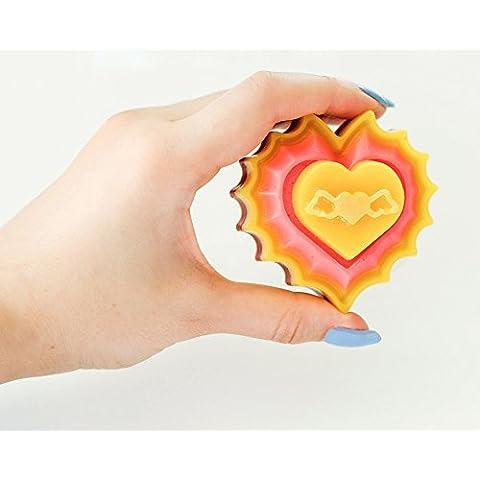 Jabon de baño con Corazón - HANDMADE, regalo, ingredientes naturales, SPA. Nuevo colección
