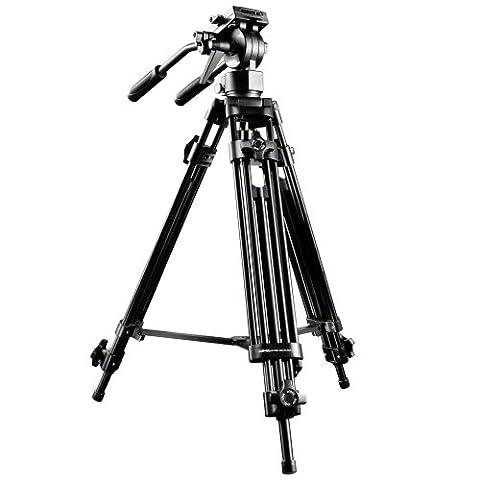 Trépied vidéo pro walimex pro EI-9901, 138 cm