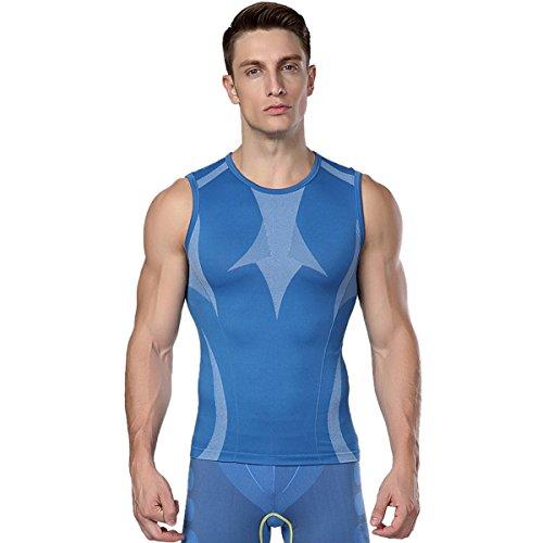 Shaper del corpo per gli uomini Perdita uomini che dimagriscono la camicia della maglia T-shirt di compressione di sostegno