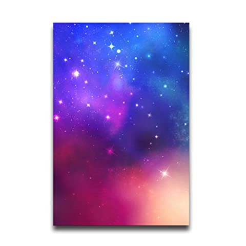 Colorful Star Wall Paper Poster And Print Customized Home Decor Room Decor