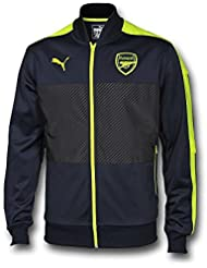 Puma Jacke AFC Stadium Jacket with Sponsor, balón de High Risk Red, 3 x l, 749738 02