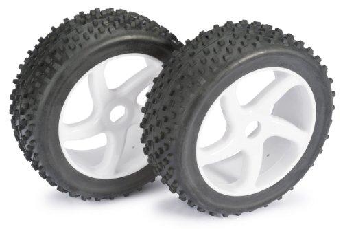 Absima - Wheel Set Buggy 5 Spoke/Dirt white 1:8 (2 pcs) (2520012)