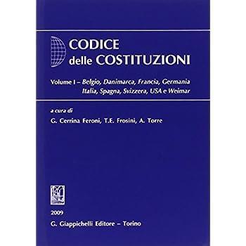 Codice Delle Costituzioni: 1