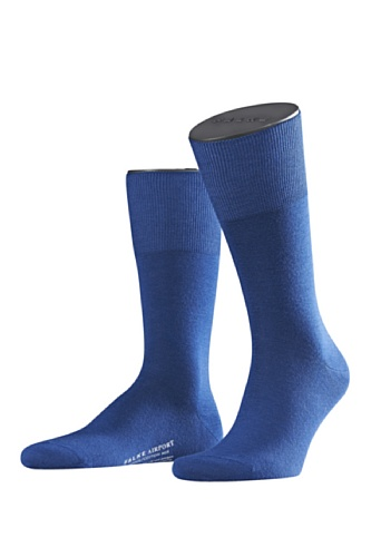 FALKE Herren Socken Airport SO Blau (Royal Blue)