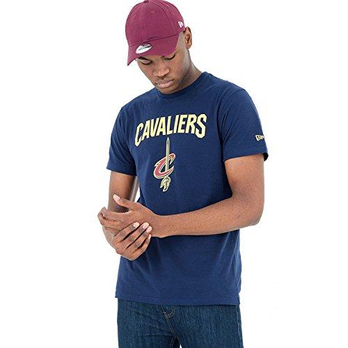 Usc-basketball-shirt (New Era Herren Oberteile/T-Shirt Team Logo Cleveland Cavaliers Blau XXL)