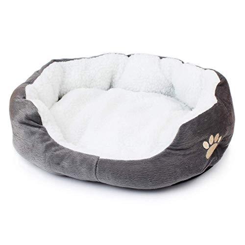 Wishdeal kleines Hundebett für Hunde und Katzen, 50 x 40 cm, für Chihuahua, Pudel, Yorkshire, Pinscher Bichon Frise, Dackel (Chihuahua Hundebett)