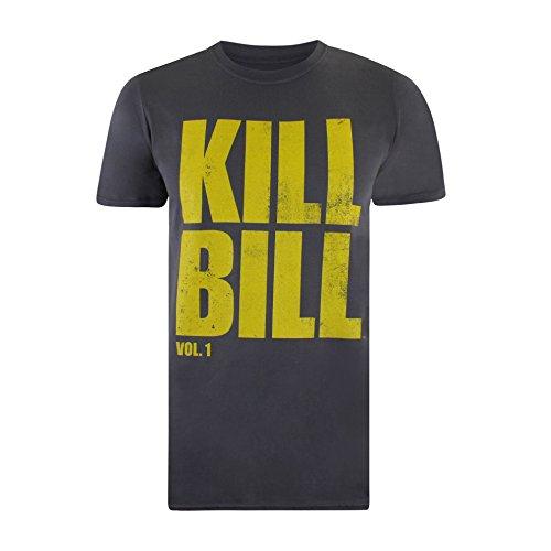 Kill Bill Herren T-Shirt Logo Grau (Anthrazit)
