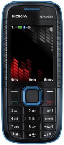 Nokia 5130 XpressMusic blue (GSM, Bluetooth, Kamera mit 2 MP, Nokia Music Store, UKW-Stereo-Radio) Handy