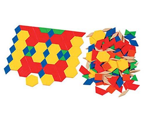 Unbekannt Pattern-Blocks aus Holz - Pattern-blocks