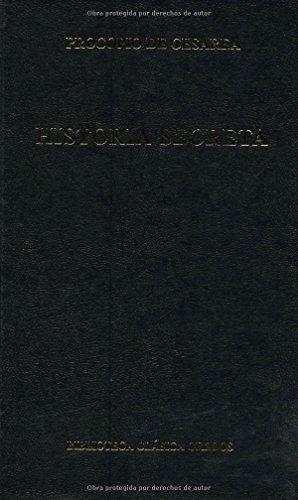 Descargar Libro Historia secreta (B. CLÁSICA GREDOS) de Procopio De Cesarea