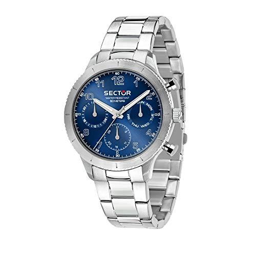 SECTOR NO LIMITS Orologio Cronografo Quarzo Donna con Cinturino in Acciaio Inox R3253578012