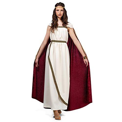 Deluxe Trojanerin Köstüm für Damen   Gr. XS - XL   weiß Griechin Römerin Antike Sparta Königin Göttinkostüm, Größe:XS (Sparta Kostüm)