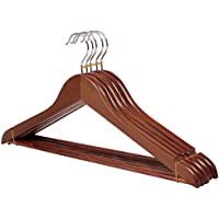 tinta legno coat hanger/Slitta in legno casa in adulto clothes rack/ vestiti legno armadio prop/ gancio-A