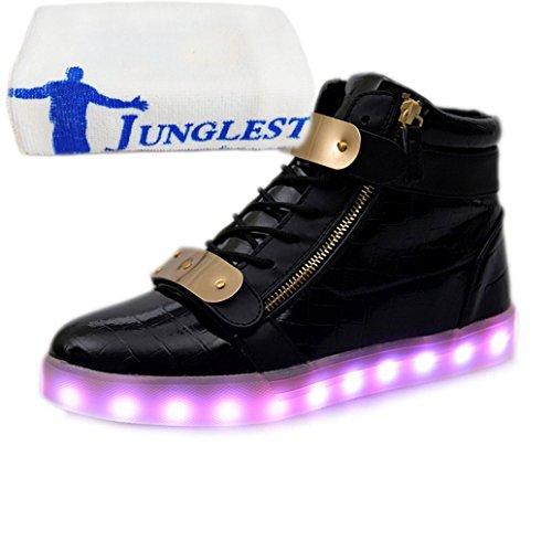 (Présents:petite serviette)JUNGLEST® - Baskets Lumin Vernis High-Top Noir
