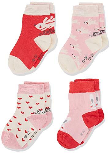 s.Oliver Socks Unisex Baby S20580000 Socken, Rosa (Paradise Pink 3311), 23-26 (8erPack) -