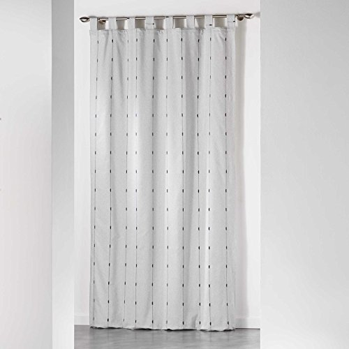 Homea tenda con passanti in poliestere, poliestere, gray, 260x140 cm