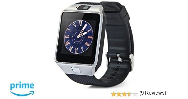 Montre téléphone connectée débloqué Bluetooth 3.0 Smartwatch Sport avec support carte Sim: Amazon.fr: High-tech