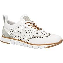 ZWEIGUT® -Hamburg- komood #356 Herren Sneaker Leder-Schuhe luftiges Brogue-Muster auf extrem flexibler Sohle
