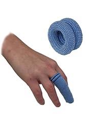 Lot de 5qualicare First Aid Bandage tubulaire doigt Rouleau Bobs Lit Buddies Pansements Bleu Restauration Cuisine