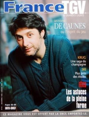 france-tgv-et-grandes-lignes-n-10-du-01-12-1998-antoine-de-caunes-krug-une-saga-du-champagne-ski-plu