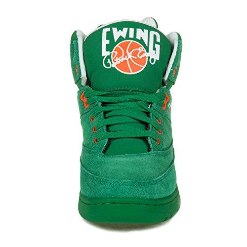 Patrick Ewing, Scarpe Basket uomo Verde (Verde)