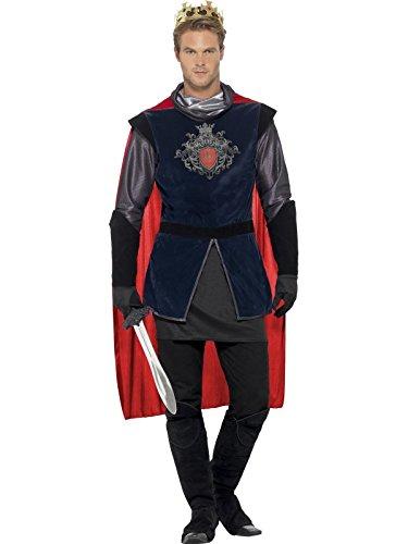 Smiffys Kostüm mittelalterlicher König für Männer (2 Mann Kostüm Ideen)