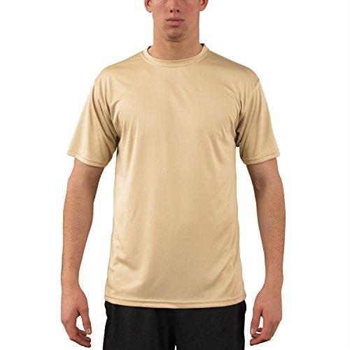 Vapor Apparel Herren UPF 50+ UV Sonnenschutz Kurzarm Performance T-Shirt M Vegas Gold