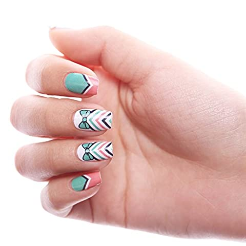 HIGH'S Pattern Series 2016 Summer Collection Manicure Nail Polish Strips Nail Wraps, Tribal - Collezione Tribal
