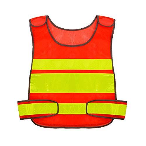 HAIT Reflektierende Weste Sicherheitsweste Verkehrsstörung Nachts Reisen Fluoreszierende Kleiderjacke