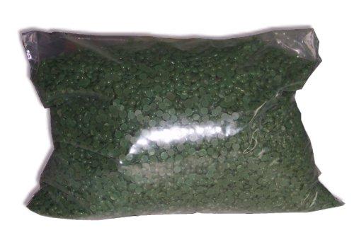 Look Concept - Sachet de perles de cire à épiler traditionnelle VERTE - 1 kg pour épilation