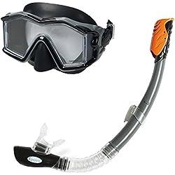 Intex - 55961 - Jeu d'eau et de plage - Ensemble Masque + Tuba Explorer Pro