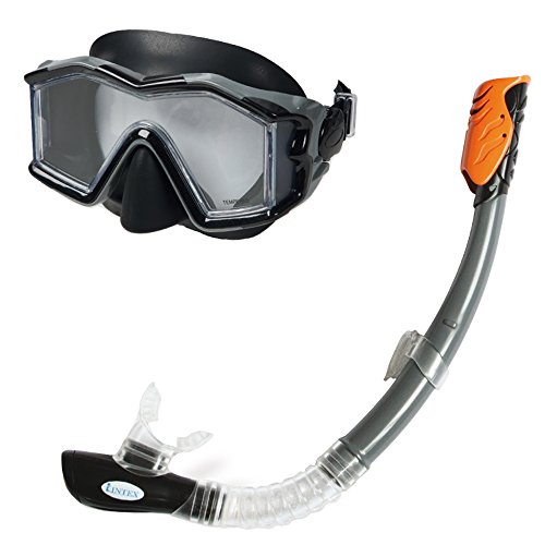 Intex Taucherset Bestehend Tauchermaske Explorer Pro Phtalates Free, 55961